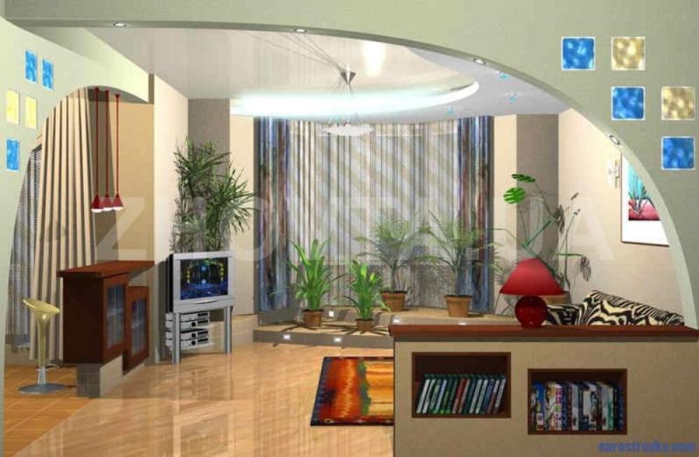 Комната в лоджии - фото-идеи превращения в жилое пространств.