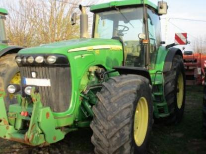Трактор John Deere 8520 Powershift 2005 г/в, 334л. с. нараб-11300 м/ч,