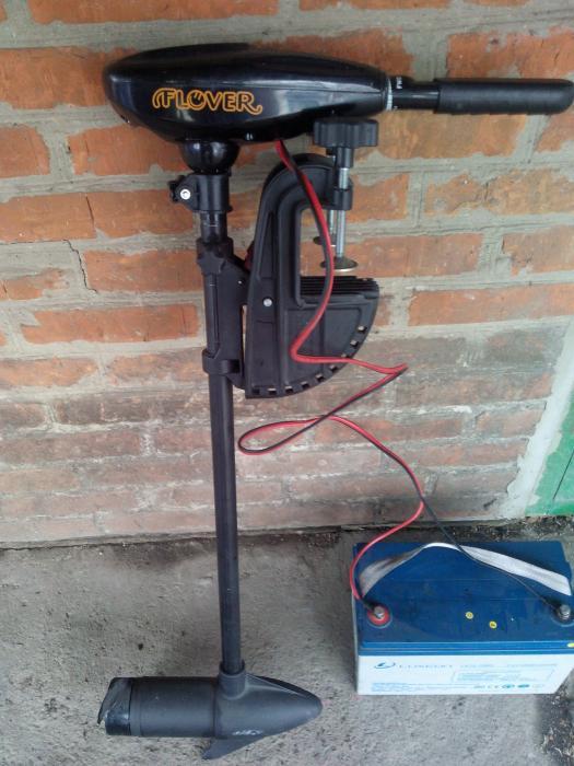 мотор электрический для надувной лодки цена
