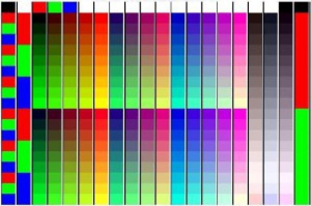 Тестовая картинка для проверки печати