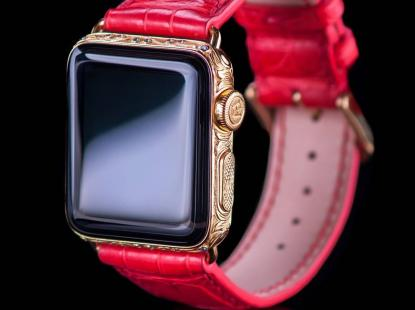 Apple Watch 4 24kt queen's Counsel