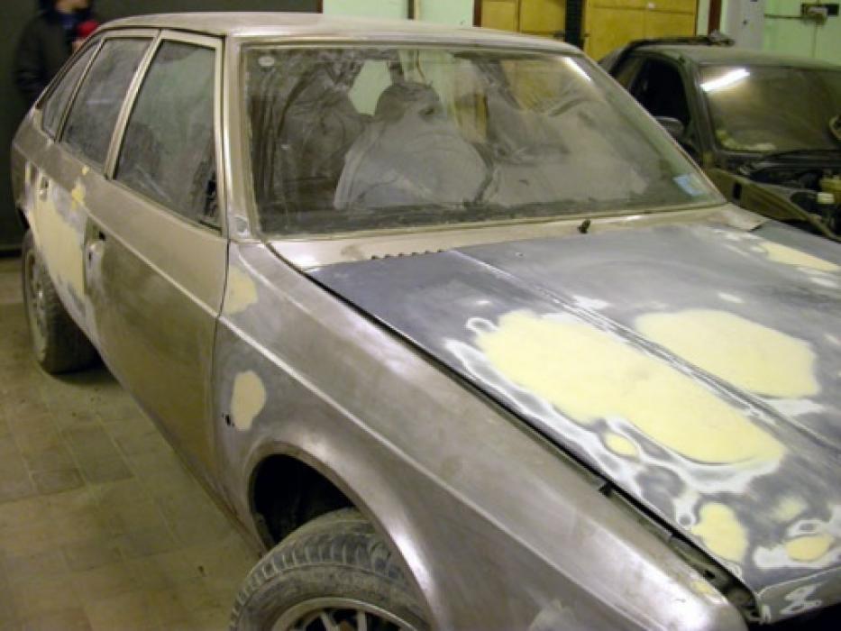 Подготовка кузова автомобиля к покраске своими руками