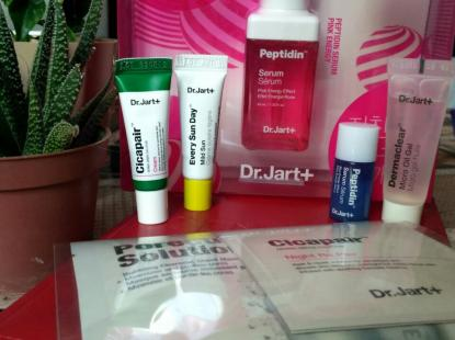 Dr.Jart + Peptidin Serum Pink Energy Up Set - сет з 7 предметів